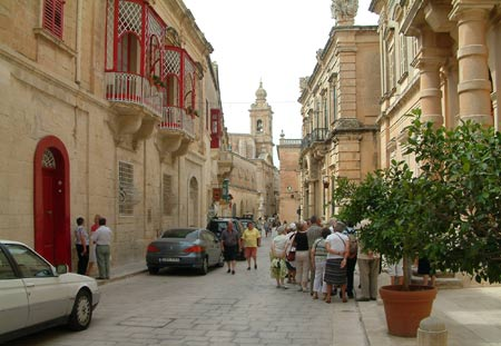 Beautiful buildings of Mdina