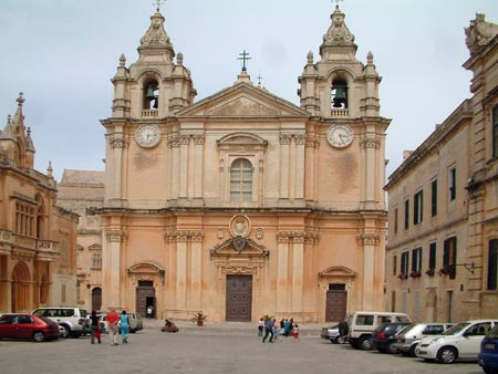 Cathedral of St Paul in Mdina